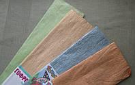 Бумага гофрированная перламутровая пастельные цвета 20% 26.4 г/м2, (ДхШ) 200см.х50см.
