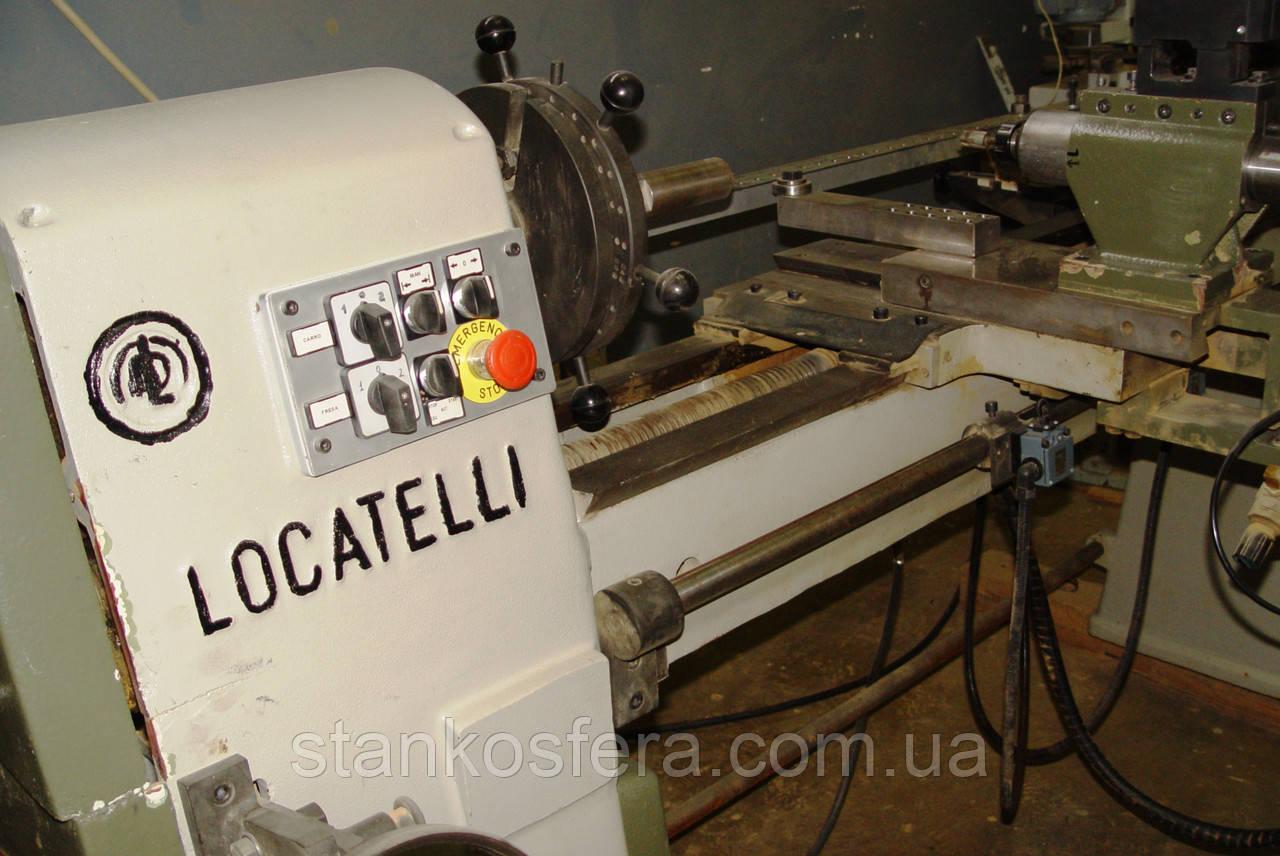 Фрезерно-токарный станок по дереву б/у Locatelli