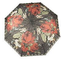 Женский симпатичный прочный зонтик полуавтомат FEELING RAIN art. 3025 (101442)