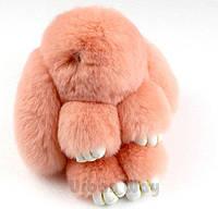 Брелок кролик Fendi из натурального меха