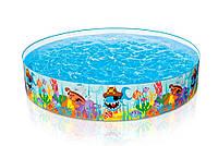 Бассейн детский каркасный «Океанский риф» Intex 56453 (224*46 см)
