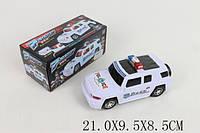 Музыкальная машина Джип Полиция, 3D свет, езда (5051)