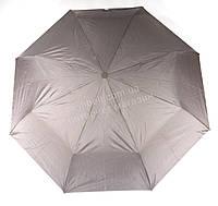 Женский симпатичный прочный зонтик полуавтомат FLAGMAN art. F806 (101480) серый