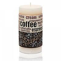 Свеча колонна 70x140 мм Время кофе