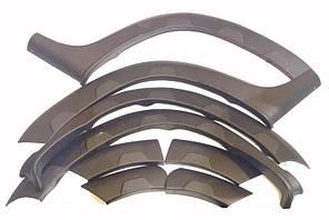 Пластиковые арки (8 шт.) для автомобиля Renault Duster 2008+ гг.