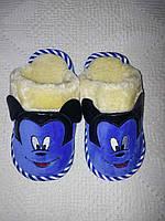 Детские тапки Микки Маусы