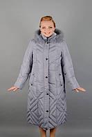 Женское зимнее пальто на пуху М-3704