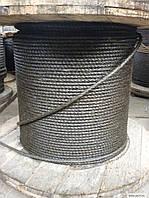 Канат (трос) стальной диаметр 25,5 мм ГОСТ  3077-80 от ГОСТ МЕТАЛЛ