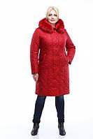 """Женское зимнее пальто """"Аннет"""",большие размеры."""
