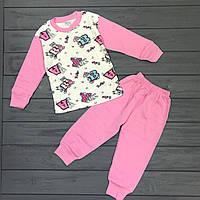 Детская пижама для девочек оптом размеры 1-2-3 года