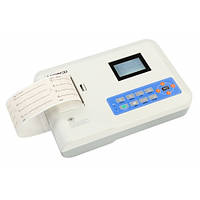 Электрокардиограф 3-х канальный Heaco 300G с монохромным экраном 3/12 канальный