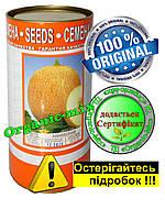 """Профессиональные семена дыни """"Ананасная"""" инкрустированные 500 г  Фермерская банка"""