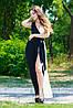 Платье Ласточка бело-черное