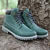 """Мужские кожаные ботинки """"Форестер"""" зелёные 40-45р."""