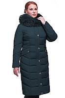 Женское зимнее пальто Дайкири-2,песец