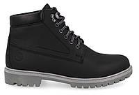 """Мужские кожаные ботинки """"Форестер"""" чёрные 40-45р."""