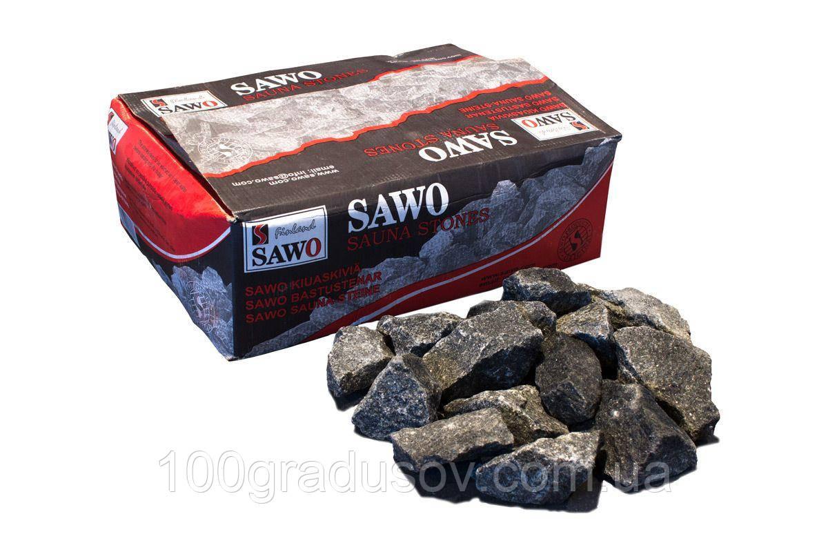 Оливиновый диабаз колотый Sawo - 20 кг