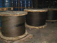Канат (трос) стальной диаметр 35,0 мм ГОСТ  3077-80 от ГОСТ МЕТАЛЛ
