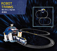 Железная дорога с Депо для Кея -Robot trains- Роботы поезда, фото 1