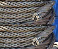 Канат (трос) стальной диаметр 39,0 мм ГОСТ  3077-80 от ГОСТ МЕТАЛЛ