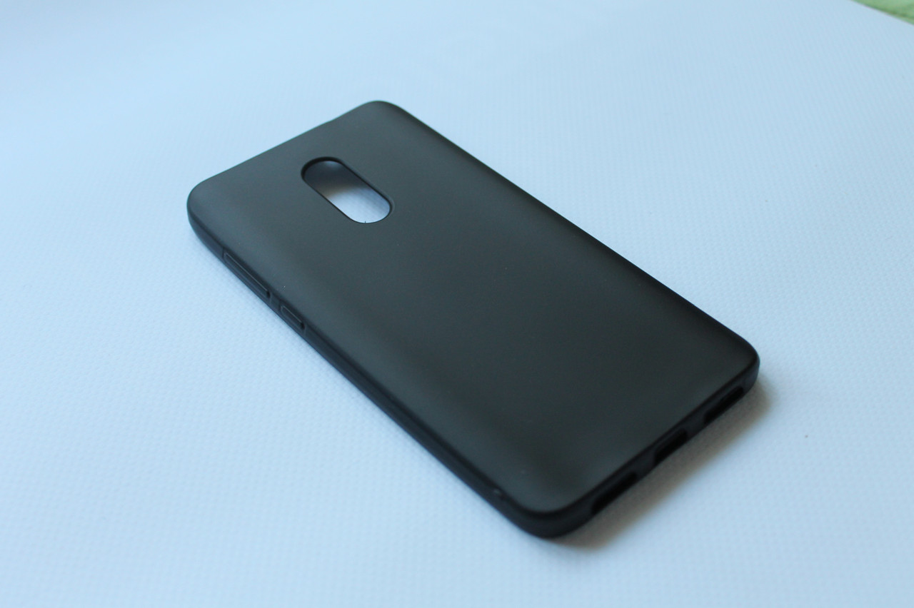 Чехол накладка для Xiaomi Redmi Note 4X черный