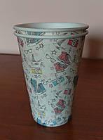 Бумажный стакан 340 мл с рисунком Keds