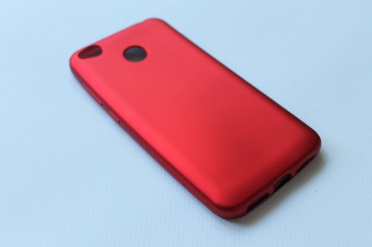 Чехол накладка для Xiaomi Redmi 4X красный