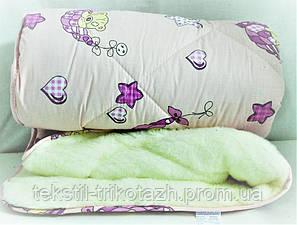 Одеяло детское из овчины, Славянский пух , фото 2