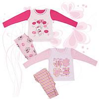 Пижама  для девочки Пазлы