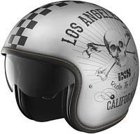 Мотошлем IXS HX 78 California серый черный мат M