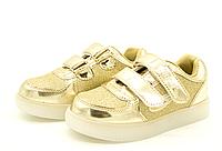 Светящиеся кроссовки для девочек 28-31 размер