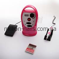 Фрезер DM-204, 35 000.об/мин, розовый