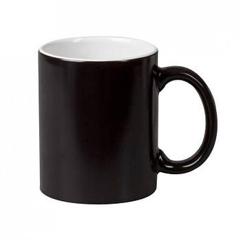 """Чашка магічна """"Хамелеон"""" колір чорний"""