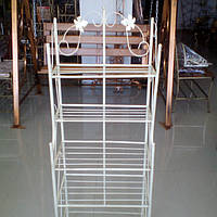Этажерка высокая бежевая 47 см