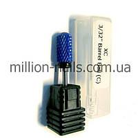 Насадка керамическая для снятия геля, (синяя) XC Barell Ball