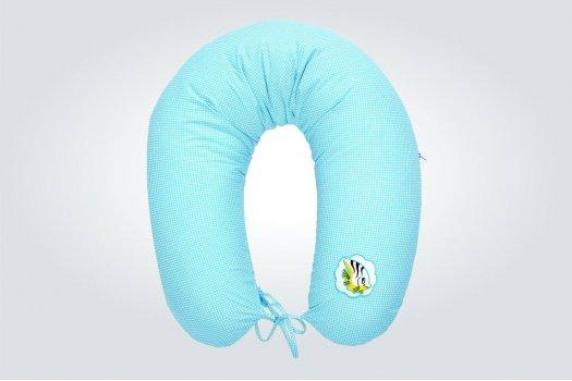 Однотонная подушка для кормления ИДЕЯ