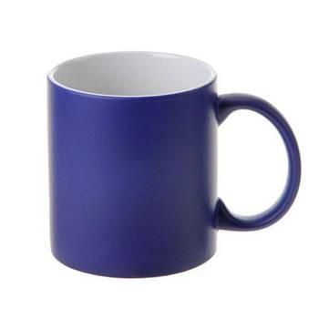 """Чашка магічна """"Хамелеон"""" колір синій"""
