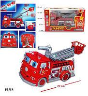 Музыкальная игрушка Пожарная машина Тачки (В838А)