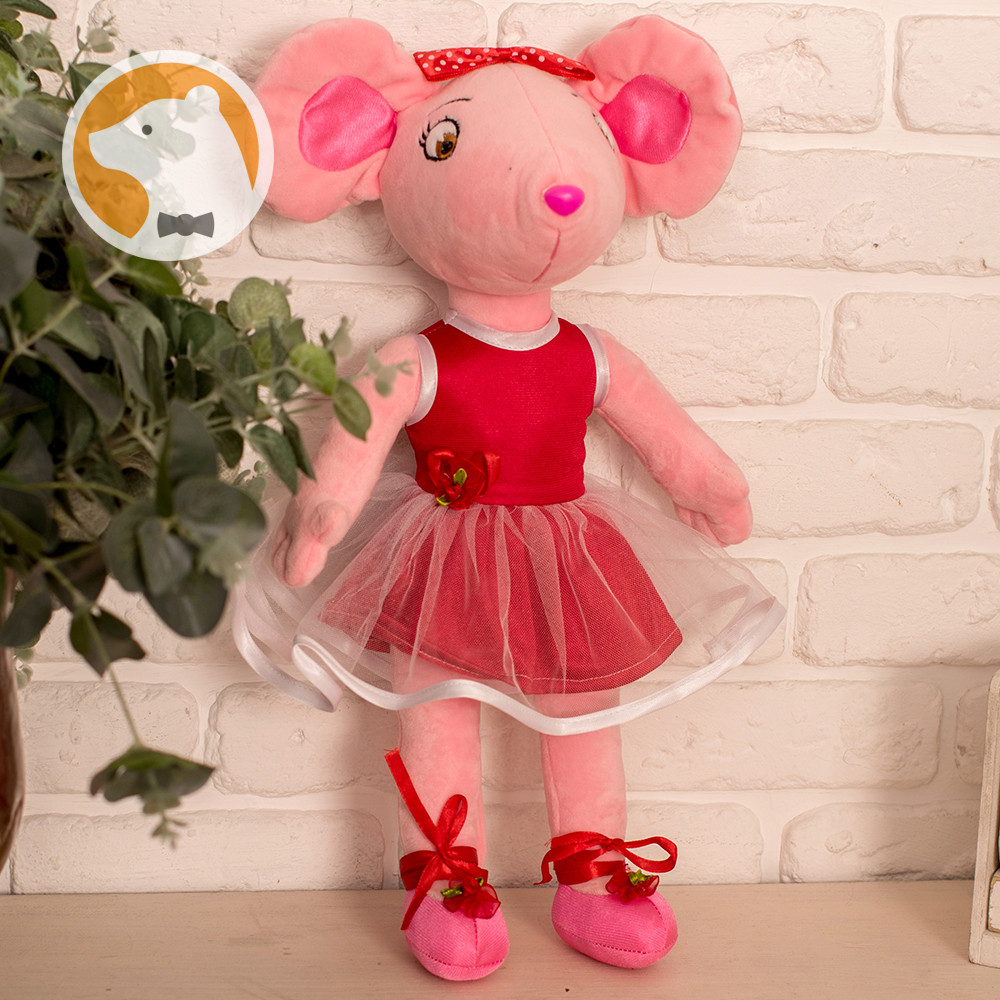 Мышка Ангелина Балерина мягкая игрушка
