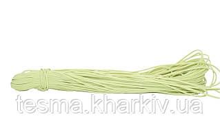 Шнур эластичный 3 мм салатовый