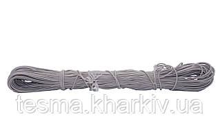 Шнур эластичный 3 мм бежевый