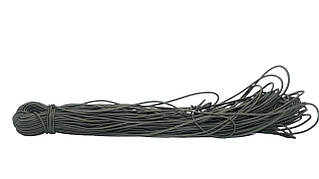 Шнур эластичный 3 мм оливка