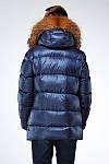 Зимняя подростковая  для мальчика с натуральным мехом , фото 2