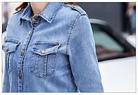 Женский джинсовый пиджак РМ7610