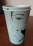 Бумажный стакан 340 мл Fashion