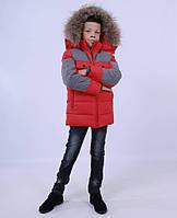 Куртка зимняя, для мальчика ANERNUO, China