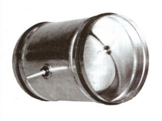 Клапани регулюючі для круглих каналів
