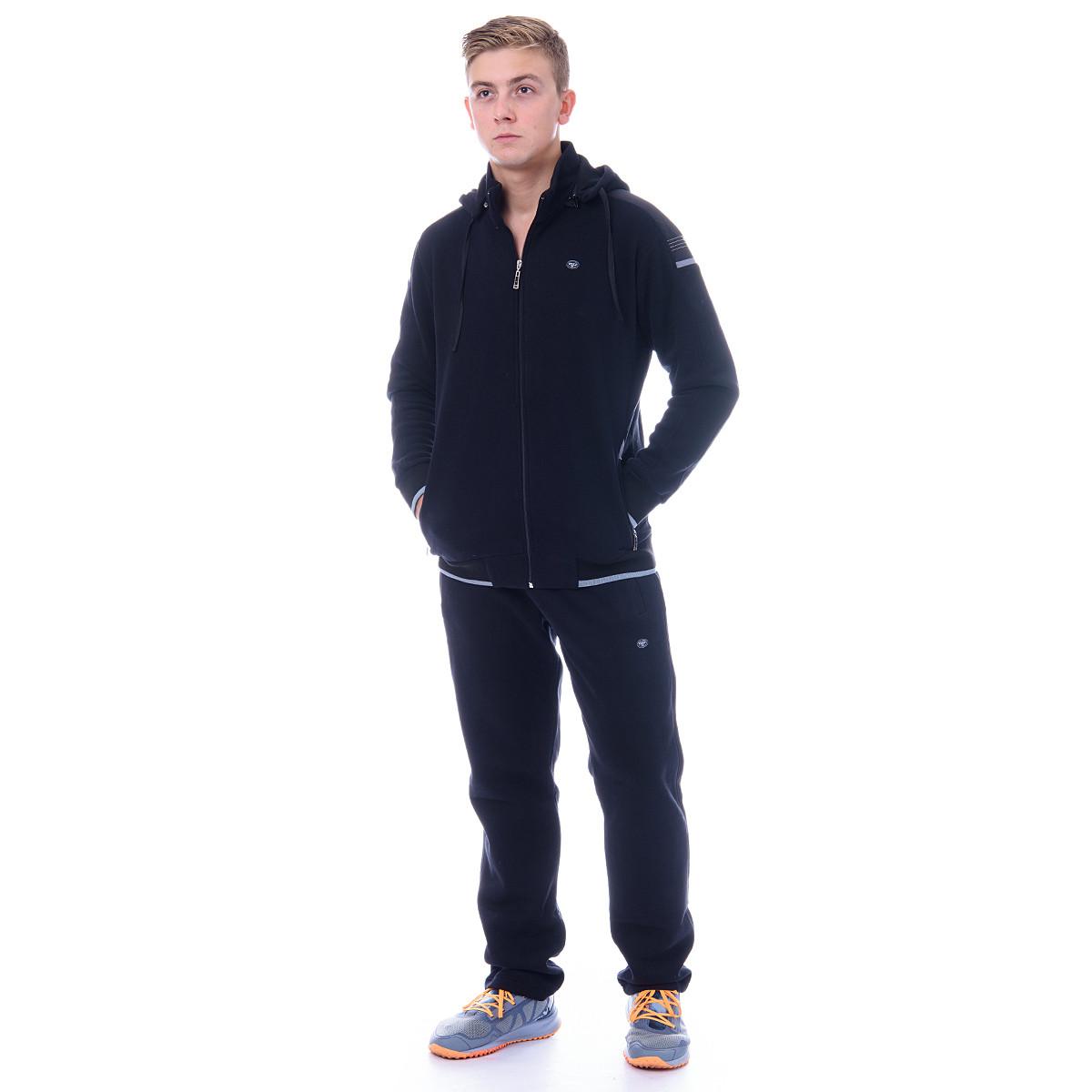 Мужской спортивный костюм на байке с капюшоном пр-во Турция Piyera 5022
