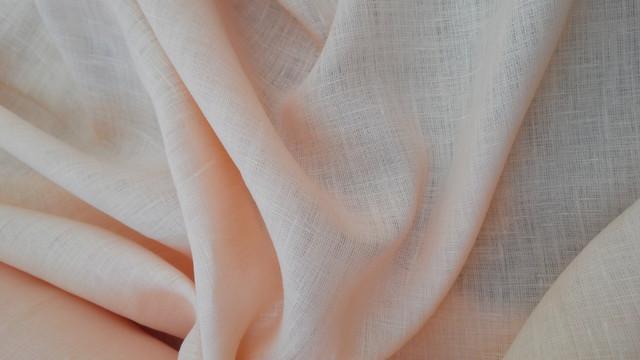 Тонкие льняные ткани (однотонные)