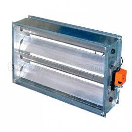 Клапани регулюючі для прямокутних повітроводів